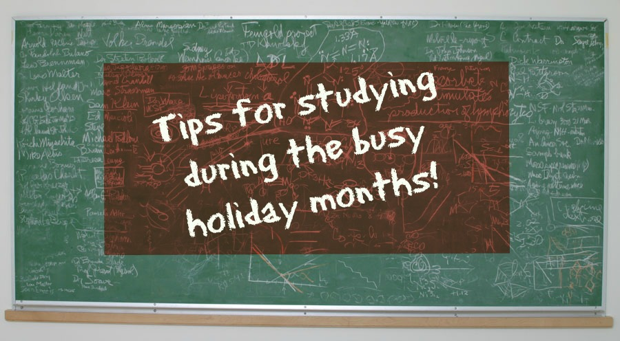Study During the Holidays