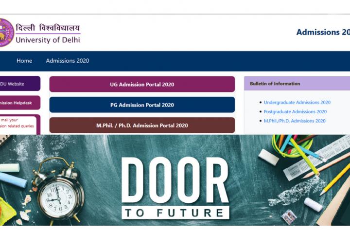 Delhi University DU PG Application Form 2020