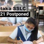 Karnataka SSLC Exam 2021 Postponed Due To COVID Surge