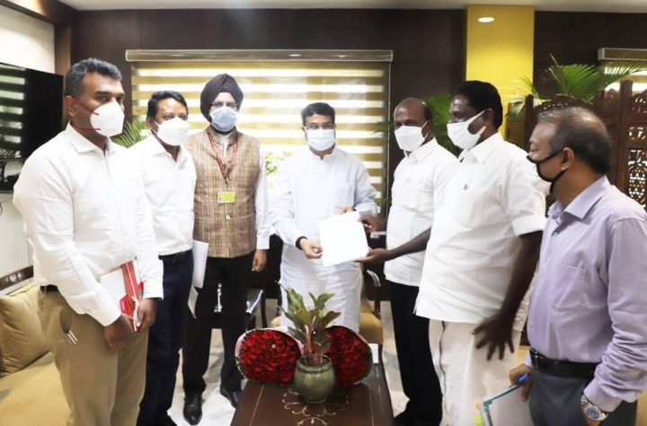 TN health minister meets union education minister on NEET issues, four new exam centres added